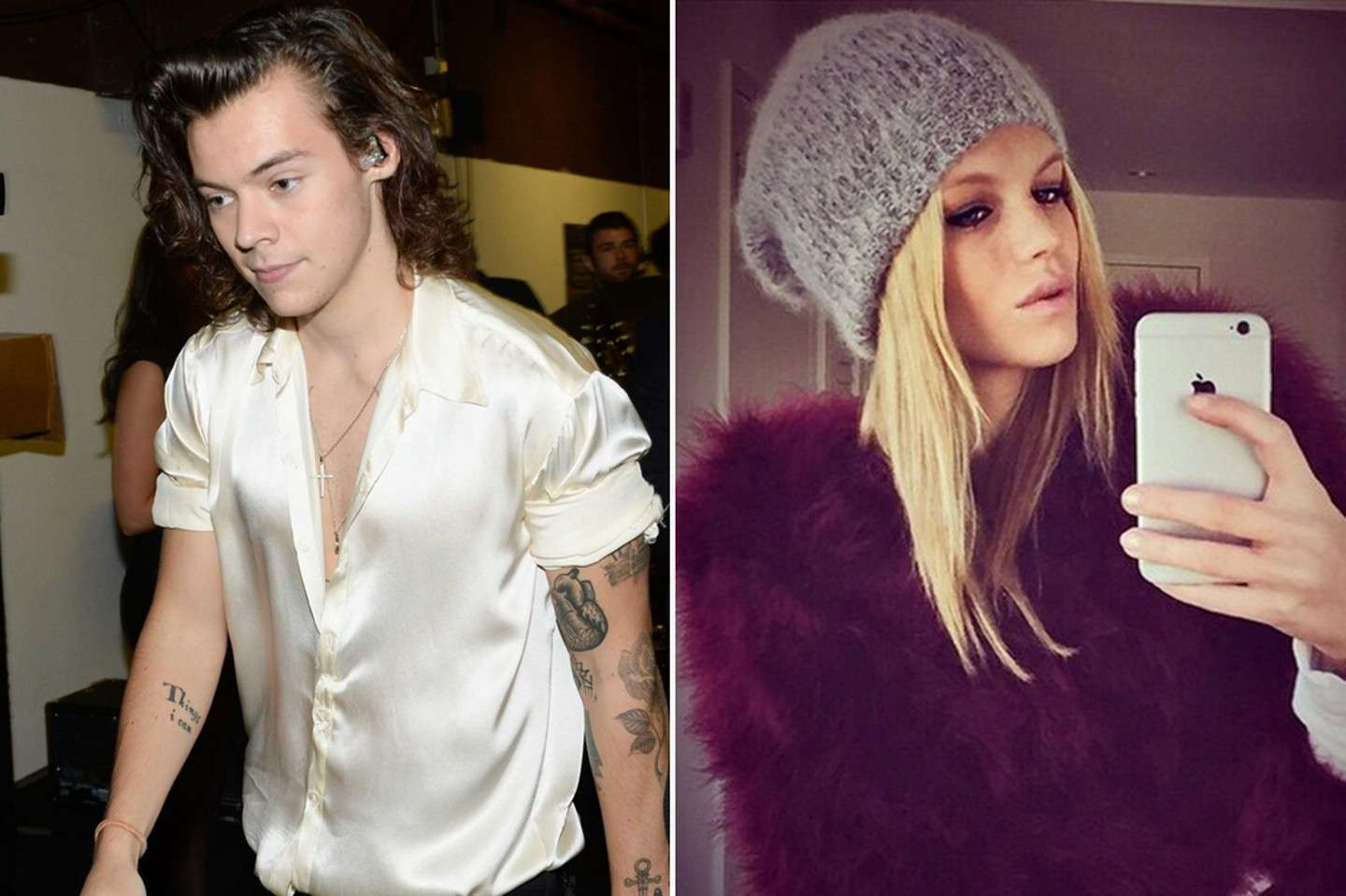 Harry Styles e Nadine