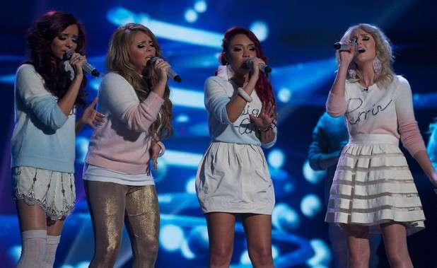 Little Mix cantano a  X Factor
