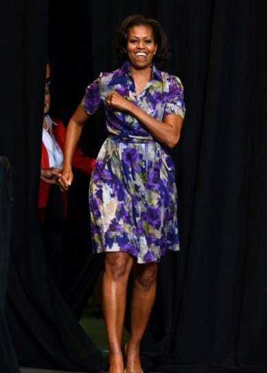 Michelle Obama tra le star alte