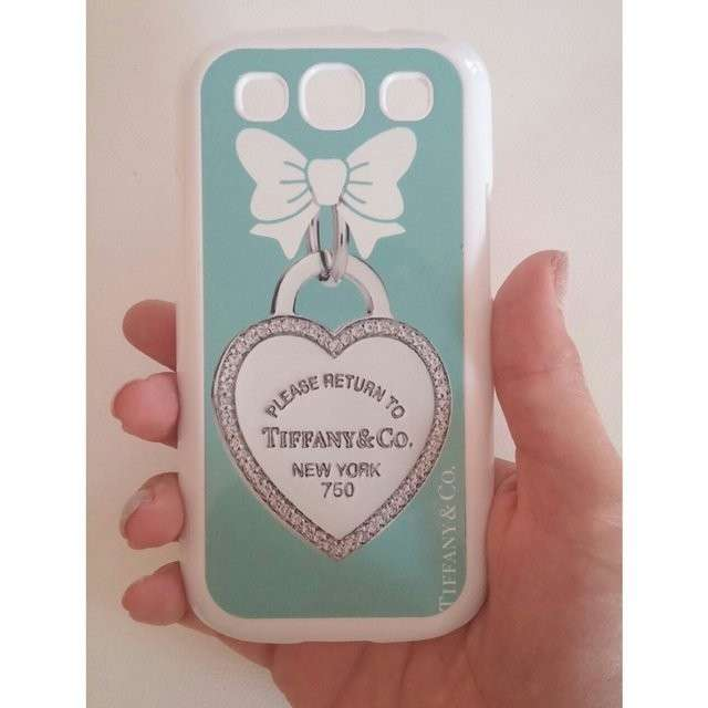 Cover con cuore di Tiffany