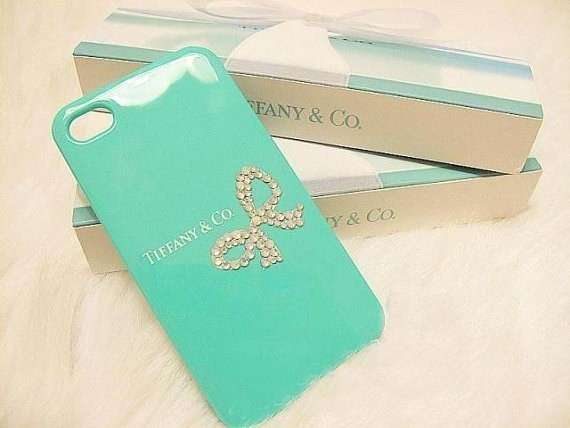 Cover Tiffany con fiocco di strass