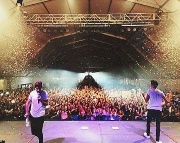 I Gemeliers in tour