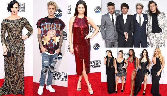 AMAs 2015: i look dal red carpet degli American Music Awards