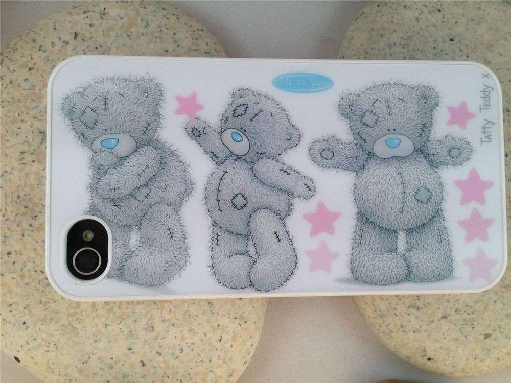 Cover con Teddy bear