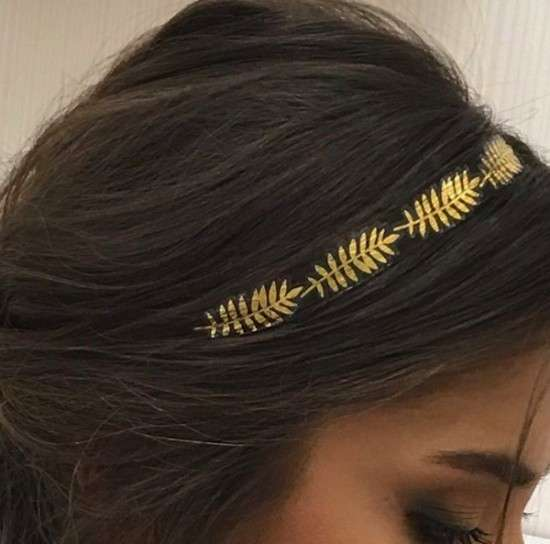 Hair tattoo effetto tiara