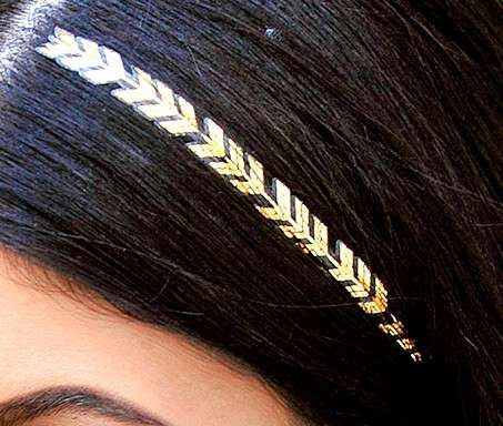 Hair tattoo di Kylie Jenner