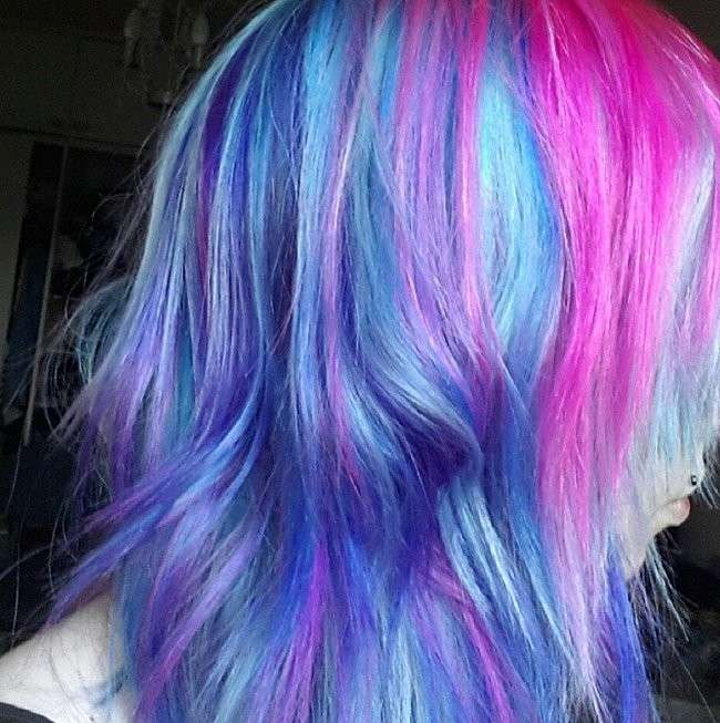 Galaxy Hair, idee colore
