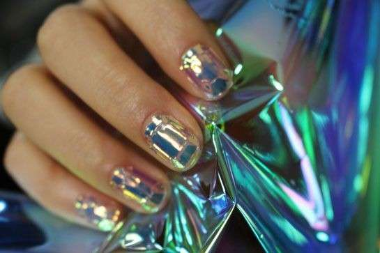 Glass nail art trasparente