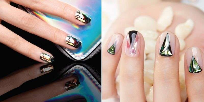 Idee per la glass nail art
