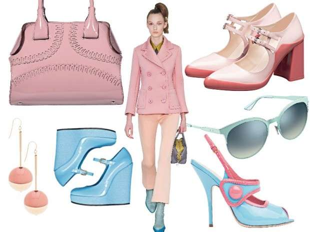 Look color pastello per l'inverno 2015-2016