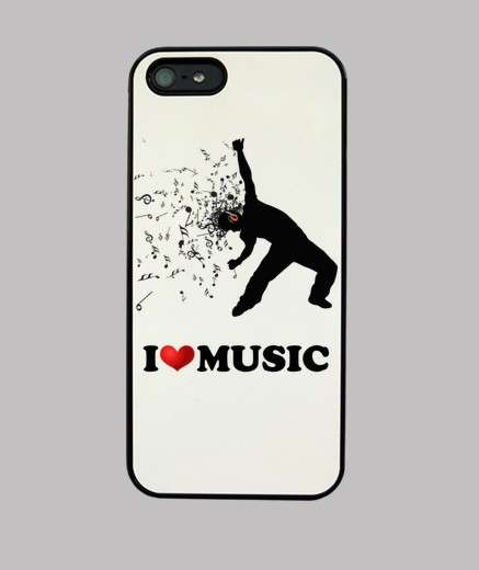 Cover I love music