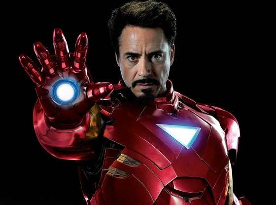 Robert Downey è Iron Man