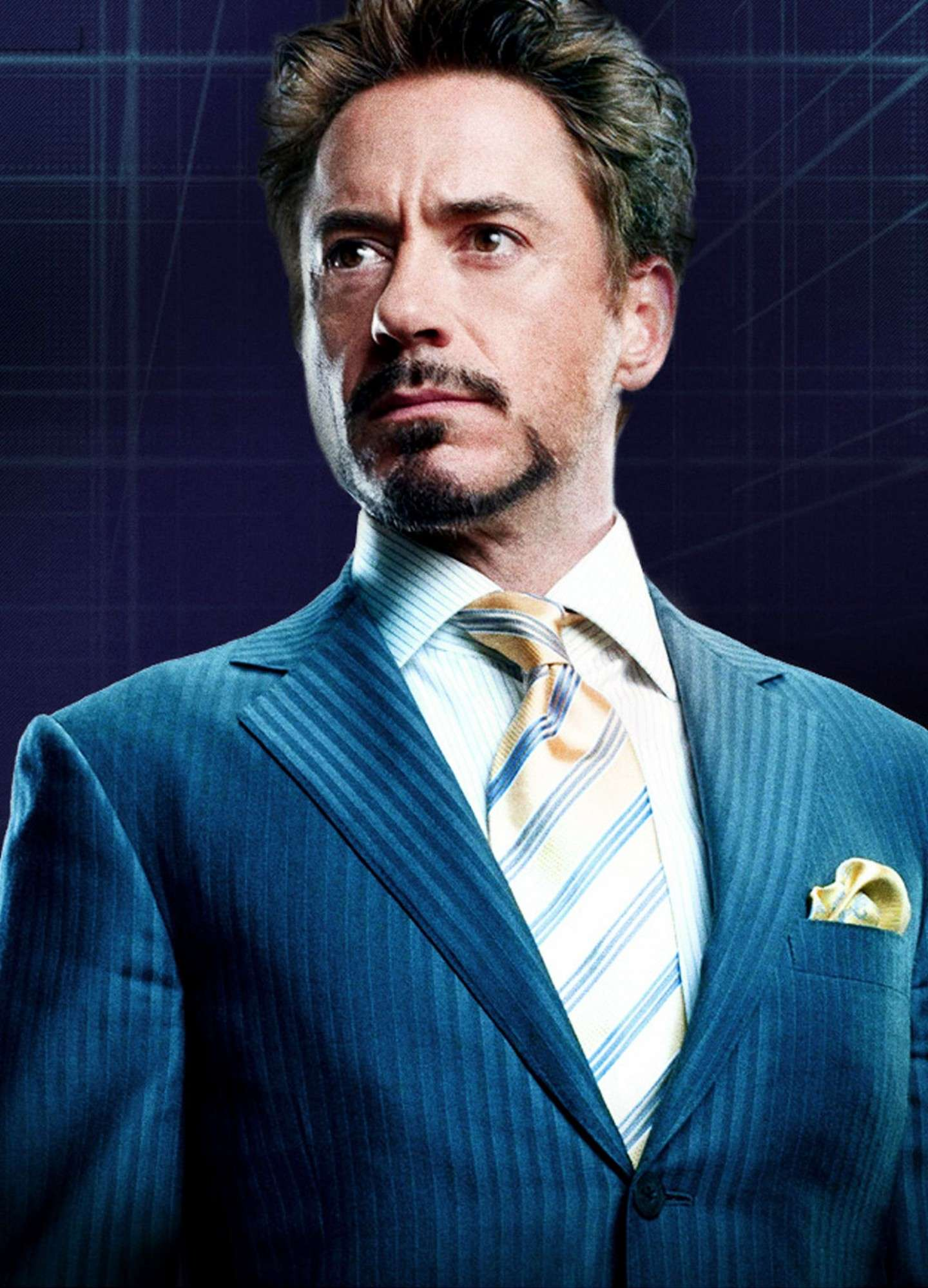 Robert Downey interpreta un supereroe