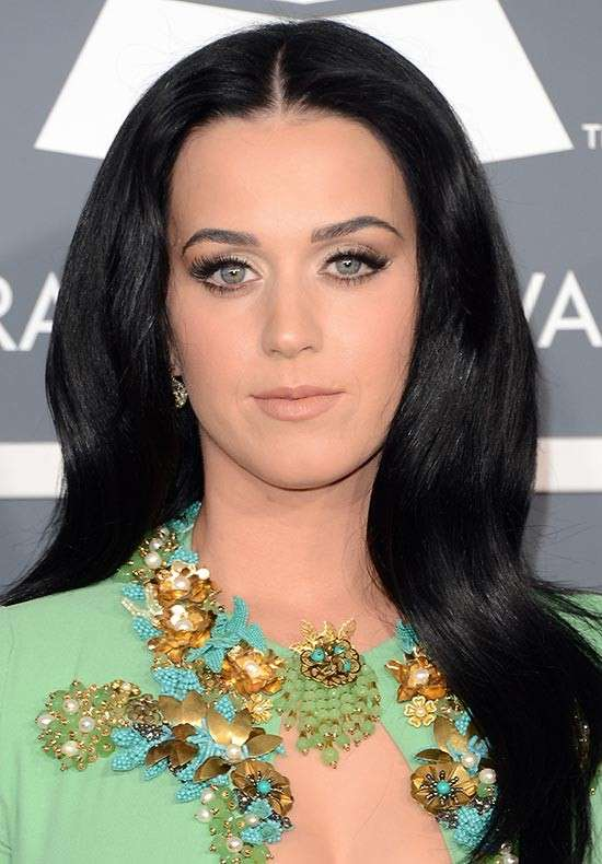 Katy Perry con makeup nude