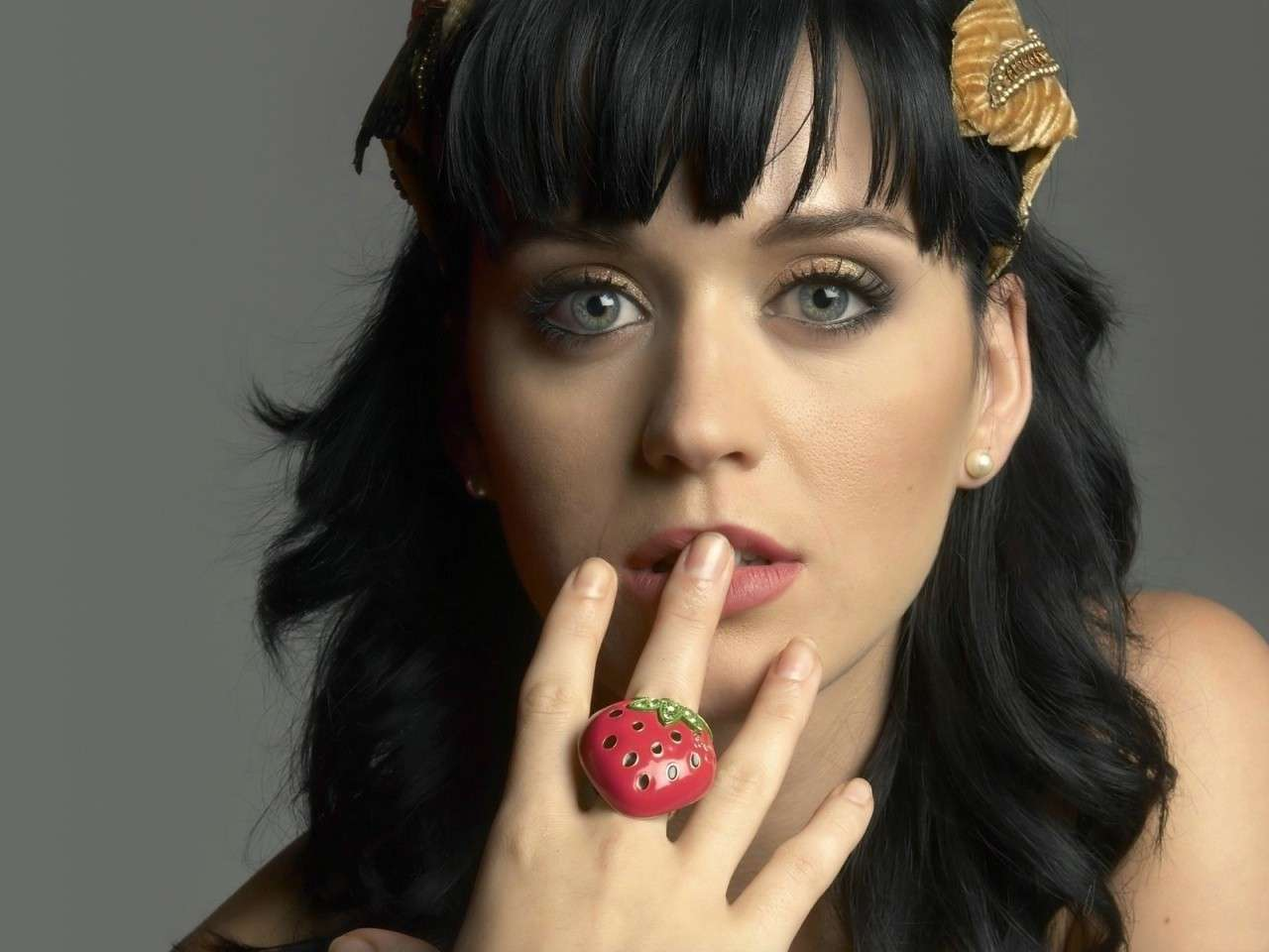 Un makeup semplice di Katy Perry