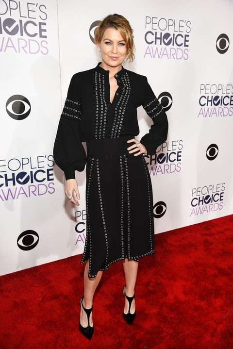 PCA 2016 red carpet - Ellen Pompeo
