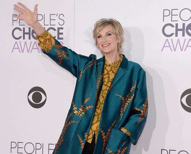 PCA 2016 red carpet - Jane Lynch