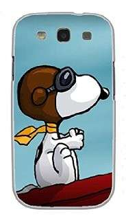 Cover con Snoopy aviatore