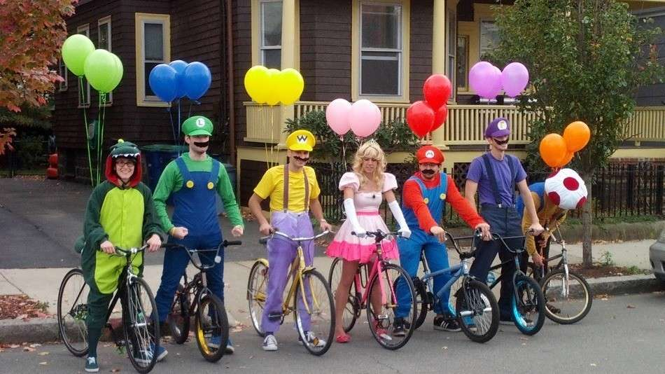 Costumi da Super Mario-Bros