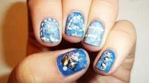 Originale denim nail art