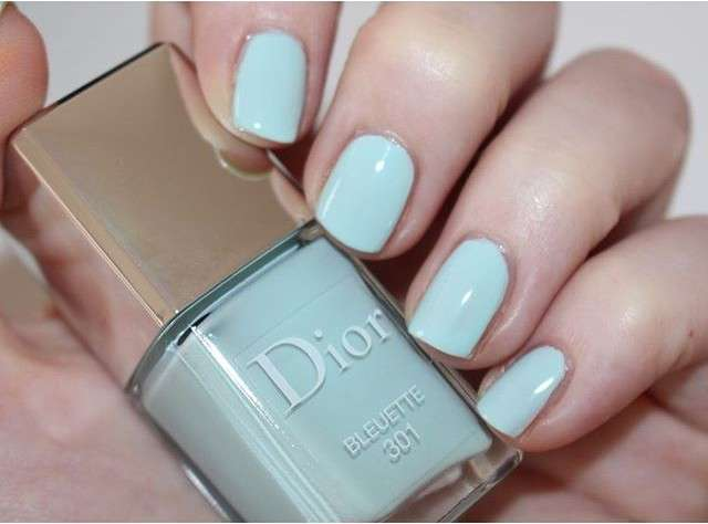 Smalto bluette di Dior