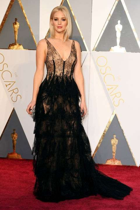 Jennifer Lawrence agli Oscar 2016