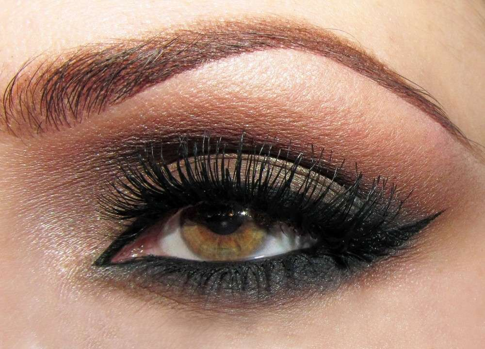 Smokey eyes nei toni del marrone