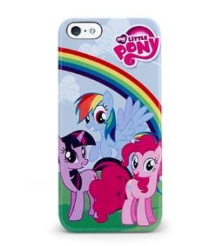 Cover con arcobaleno e My Little Pony