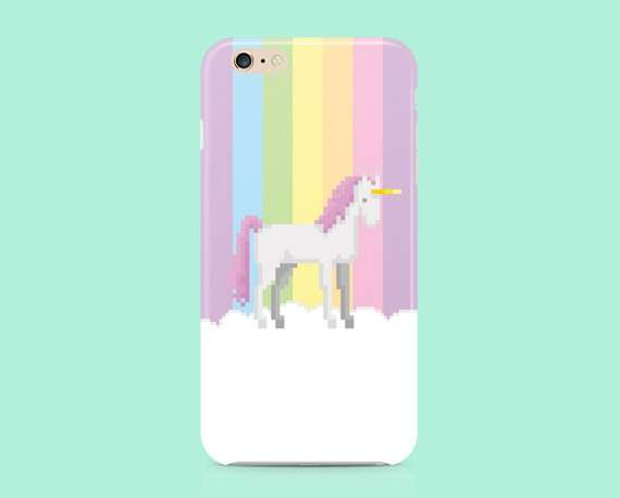Cover con arcobaleno in pixel