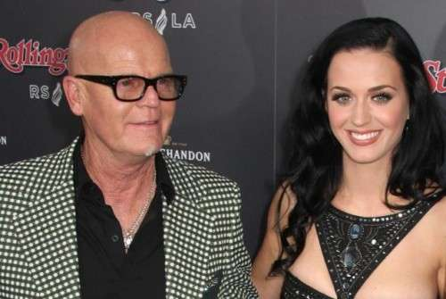 Katy Perry e il papà Keith Hudson