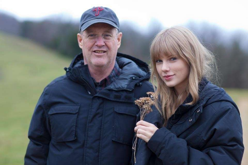 Taylor Swift e papà
