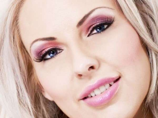 Make up labbra e occhi Rose Quartz