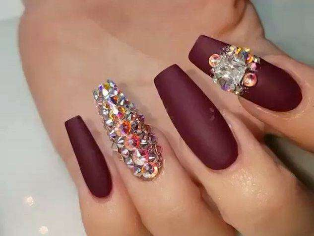 Preziosa coffin nail art