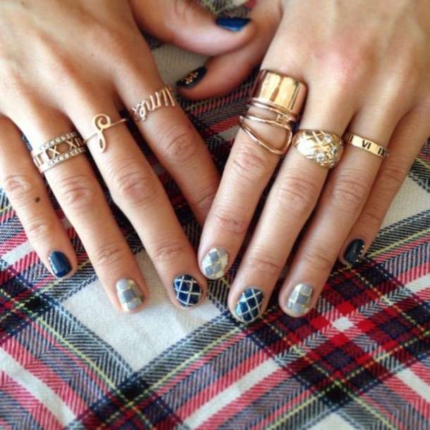 Knuckle ring dorati