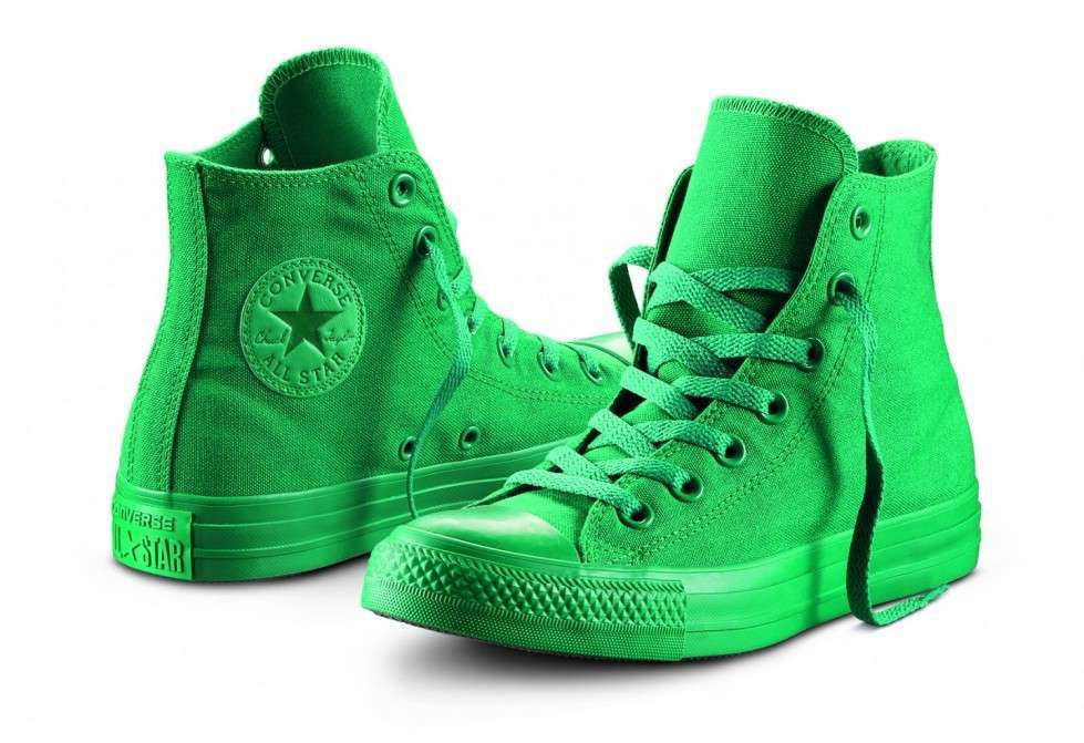 Sneakers verde acceso