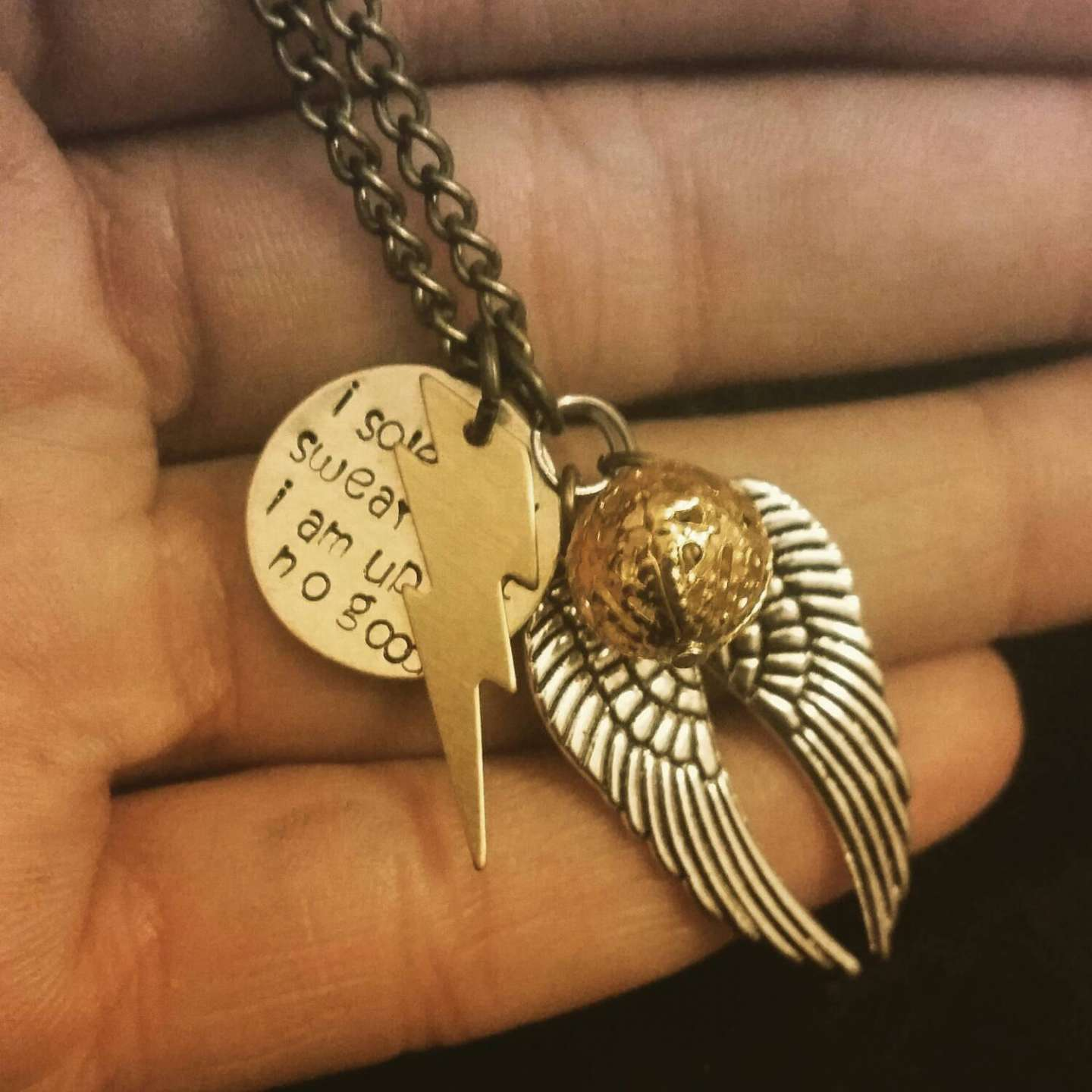 Collana ispirata al mondo di Harry Potter