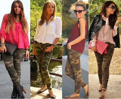 Come indossare i leggings camouflage