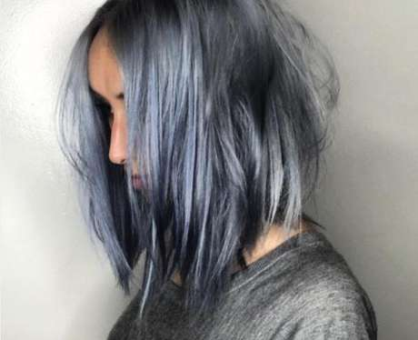 Bob color denim