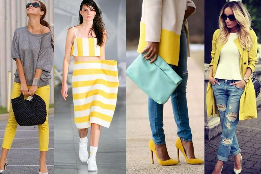 Look in giallo per l'estate 2016
