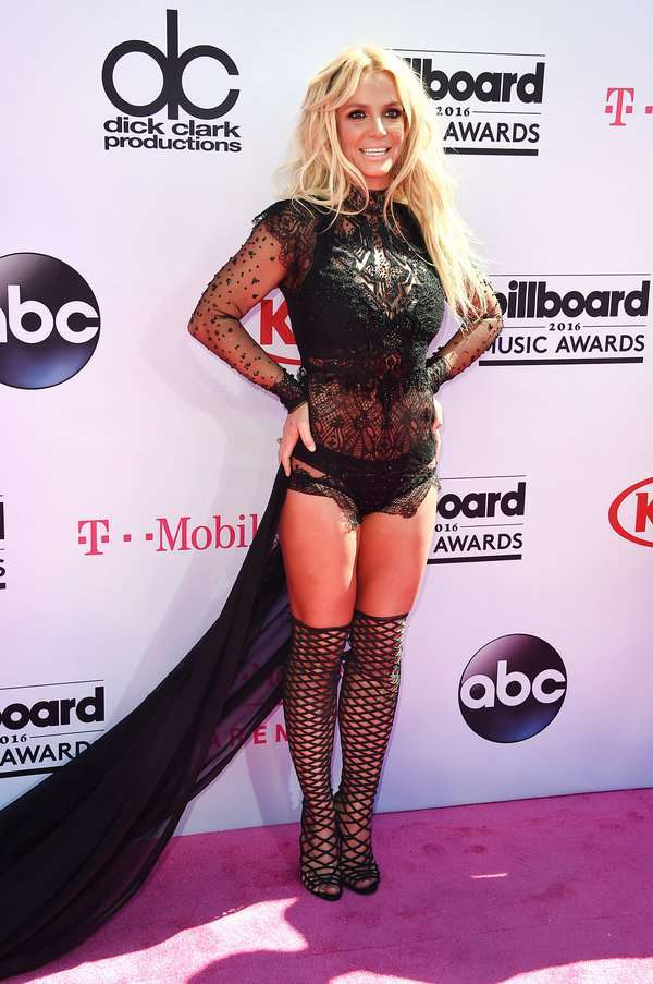 Britney Spears ai Billboard Awards 2016
