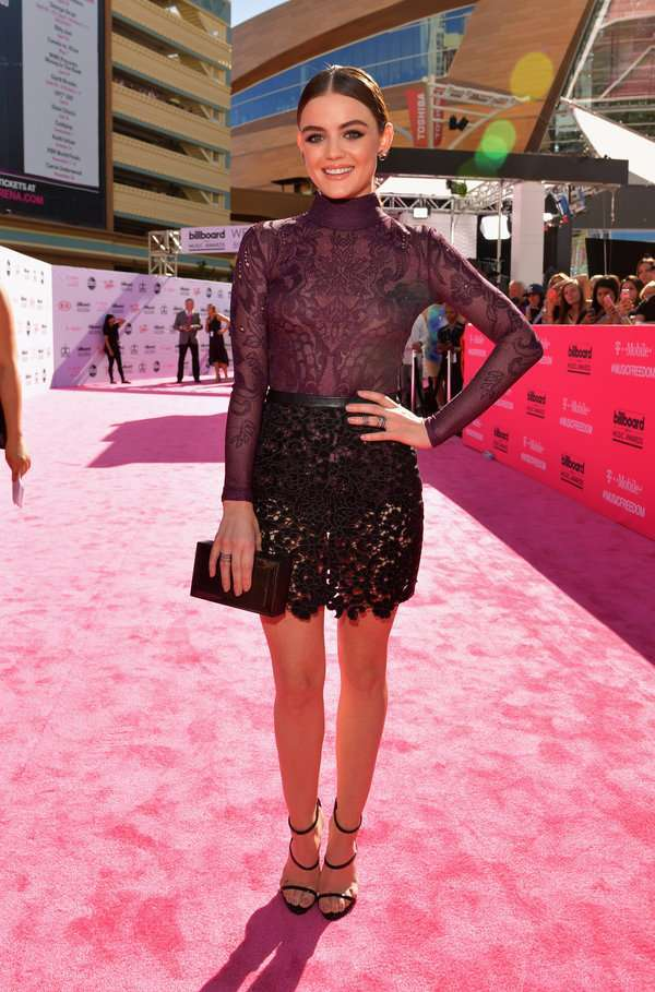 Lucy Hale ai Billboard Awards 2016