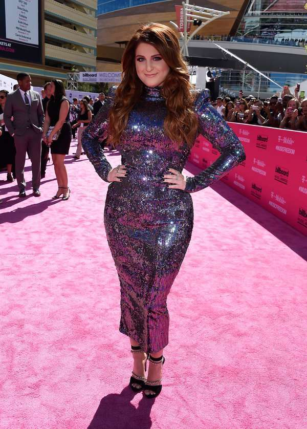 Meghan Trainor  ai Billboard Awards 2016