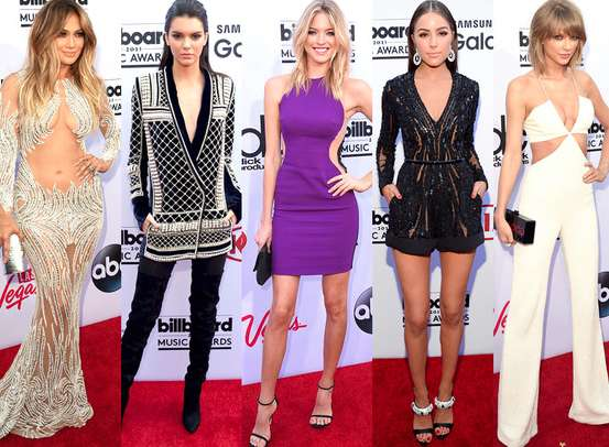 I look delle star ai Billboard Awards 2016