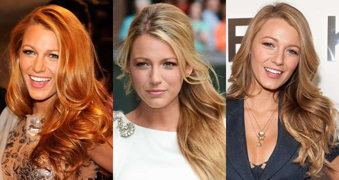 Pettinature di Blake Lively