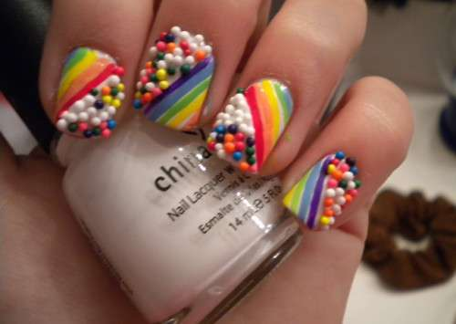Candy nails colorate