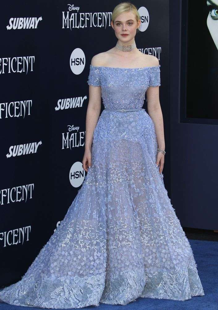 Elle Fanning sul red carpet