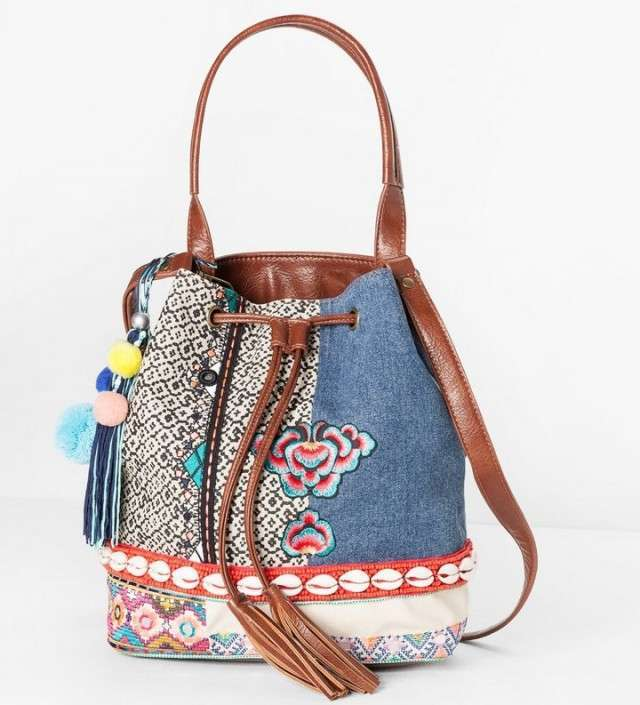 Borsa in denim di Desigual