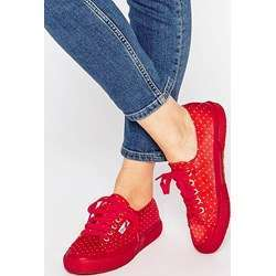 Sneakers rosse Superga