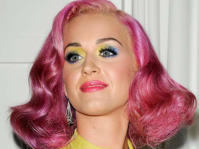 Katy Perry con il makeup di Rio