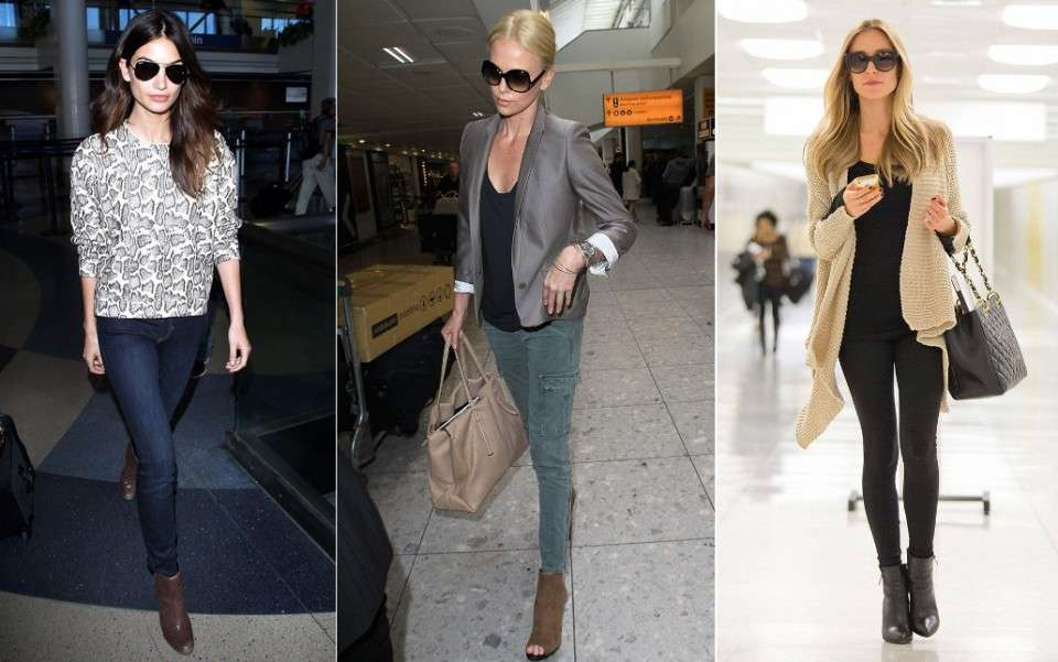 Maxi shopper le star in aeroporto